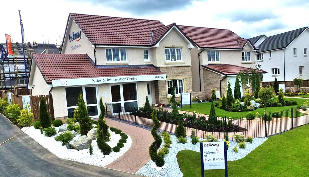 Bellway becomes the second housebuilder at Heartlands with its showhomes opening in February